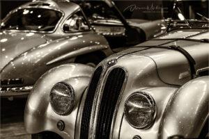 Mercedes 300 SL und BMW 328