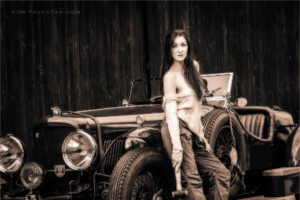 Oldtimer Shooting Lisa